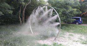 Kurtyna wodna koło