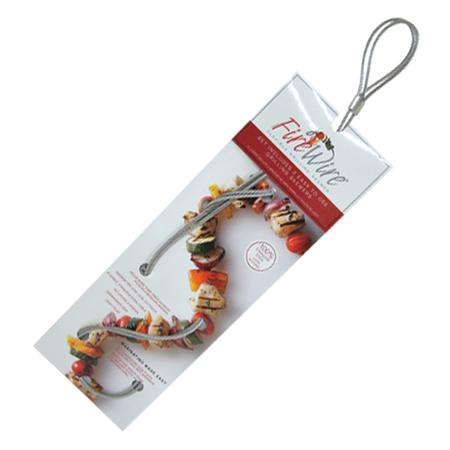 elastyczny szpikulec grillowy do szaszłyków - 2 sztuki (1)